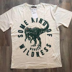Zara Dinosaur Printed T-Shirt